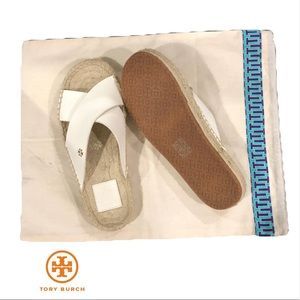 Tory Burch Espadrille Flats/Sneakers Size.6 New